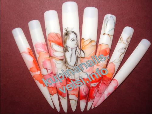 Просто фото рисунков ногтей