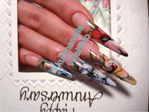 живопись на ногтях: