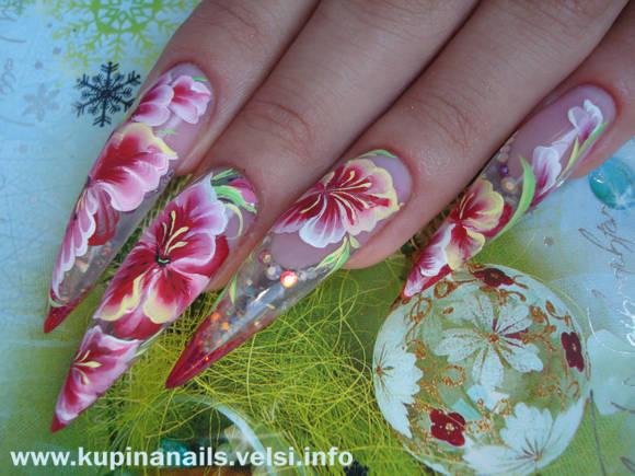 Конечно, такие ногти захочет видеть у себя любая женщина.