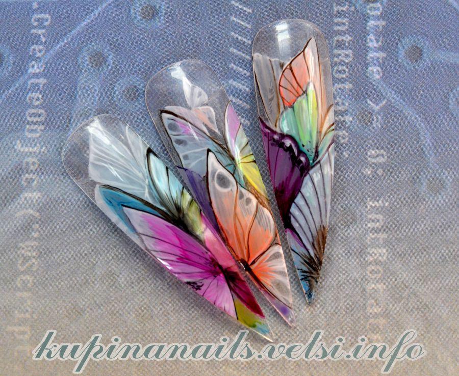 Дизайн на ногтях свадебный