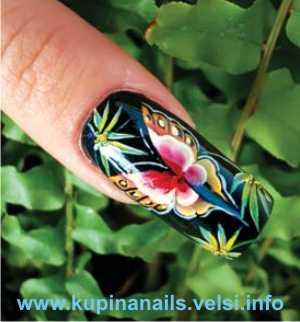 красивые рисунки на коротких ногтях эксклюзив фото