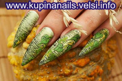 Дизайн ногтей. Сюжеты - роспись ногтей.